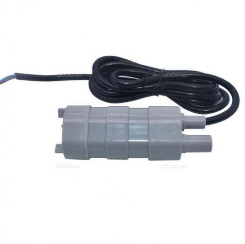 Mini Bomba de Água Submersível Ideal para Irrigação, Aquários ou Viveiros de Peixes. Vasão 600L/H Tensão DC 12V V2 592840