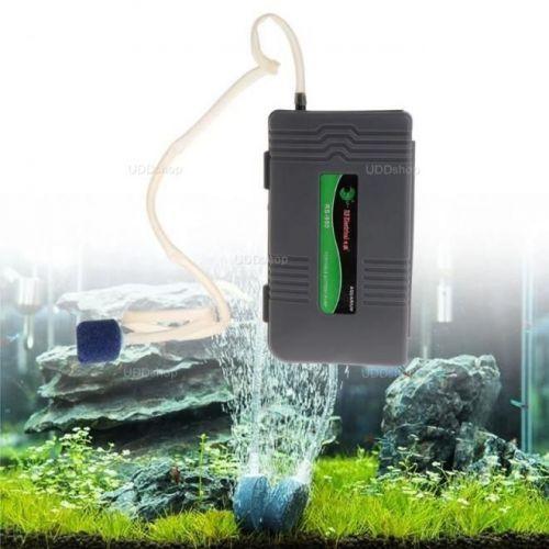 Bomba de AR Oxigênio Portátil para Aquário 2.5W. Ideal para manter Iscas Viva. Peixe ou Camarão 592846