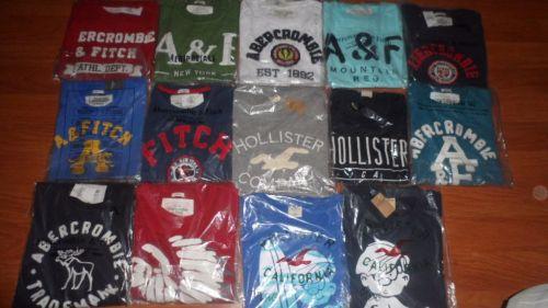 Camiseta Abercrombie e Hollister em Atacado - Camisetas para Revenda - Revender Roupas de Marca Marcas Grife Famosa 225294