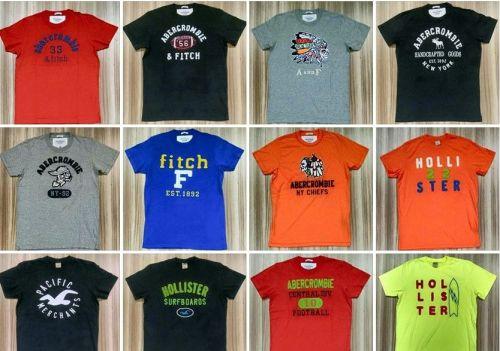 Camiseta Abercrombie e Hollister em Atacado - Camisetas para Revenda - Revender Roupas de Marca Marcas Grife Famosa 225297