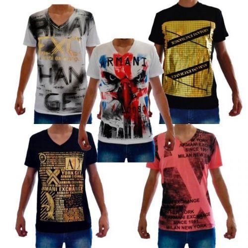 Camiseta Armani Ae Atacado - Camisetas para Revenda - Revender Roupas de Marca Marcas Grife Famosa 225305