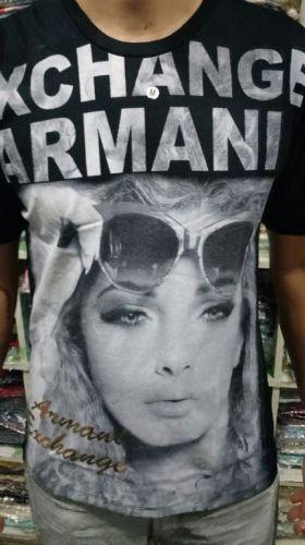 Camiseta Armani Ae Atacado - Camisetas para Revenda - Revender Roupas de Marca Marcas Grife Famosa 225306