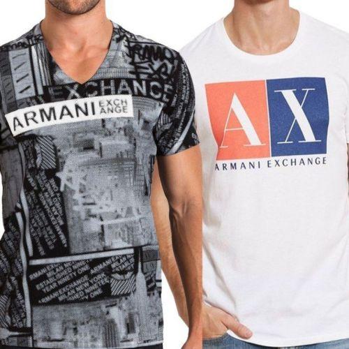 Camiseta Armani Ae Atacado - Camisetas para Revenda - Revender Roupas de Marca Marcas Grife Famosa 225310