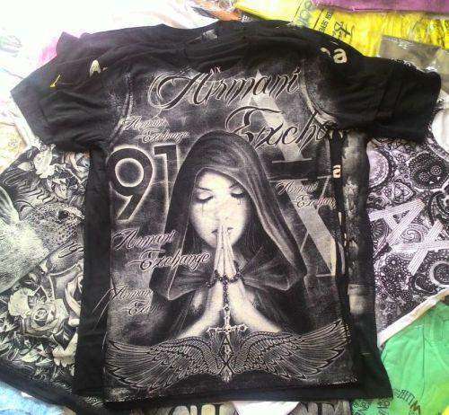 Camiseta Armani Ae Atacado - Camisetas para Revenda - Revender Roupas de Marca Marcas Grife Famosa 225311