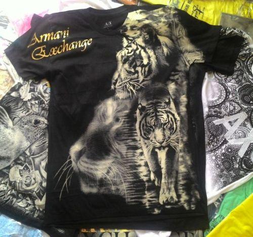 Camiseta Armani Ae Atacado - Camisetas para Revenda - Revender Roupas de Marca Marcas Grife Famosa 225315