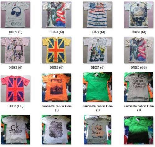 Camiseta Calvin Klein Atacado Camisetas para Revenda - Revender Roupas de Marca Marcas Grife Famosa 225330