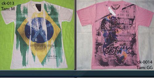 Camiseta Calvin Klein Atacado Camisetas para Revenda - Revender Roupas de Marca Marcas Grife Famosa 225334