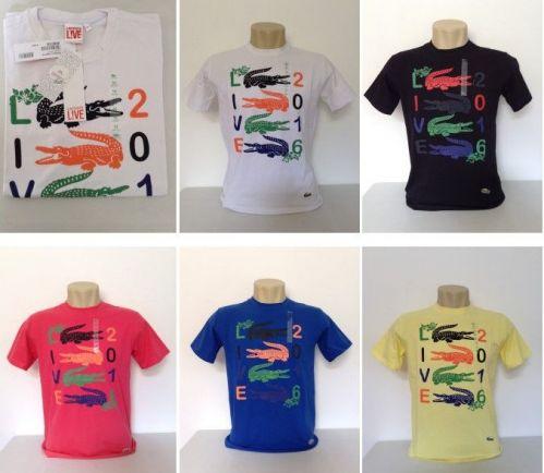 61ad370fa464e Camiseta Lacoste Atacado Camisetas para Revenda - Revender Roupas de Marca  Marcas Grife Famosa Importada Peru