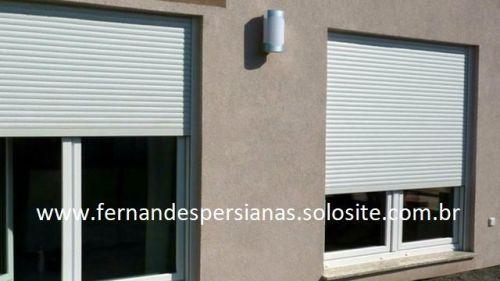 Conserto de Persiana Externa de Alumínio Troca de Correias 480202