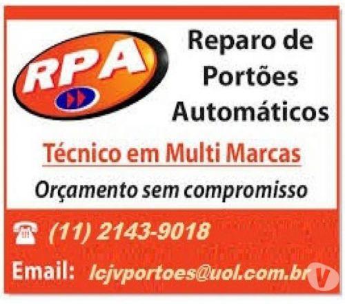 Conserto de Portões Automáticos 11 2143-9018 247141