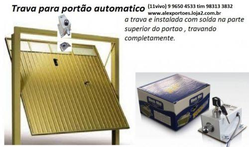 conserto e instalação de trava eletrica em portão automatico 316169
