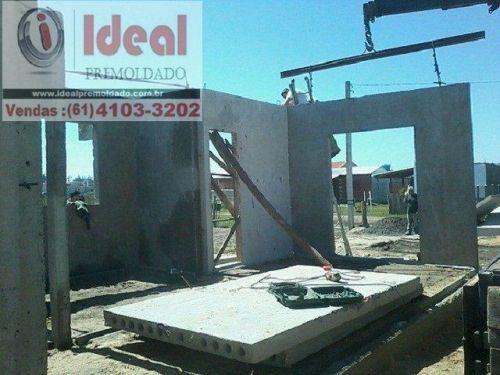 Construção de casa premoldada Brasilia-df 252314