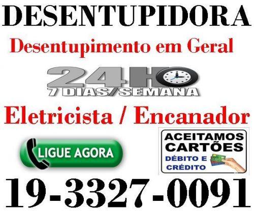 Desentupidora 992312502 em Campinas 24 Horas - Desentupimento em Geral 574736