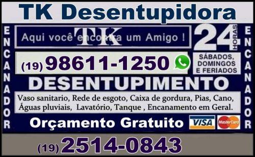 Desentupidora de Ralo de Chuva Desentupidora 24 Horas 192514-0843 508645