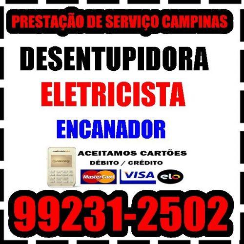 Desentupidora em Mansões Santo Antonio em Campinas 19 99231-2502 Desentupimento  465879
