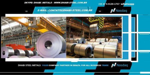 Dhabi Steel - Bobina de Aço Zincado Galvanizado Galvalume Aço Carbono 497362