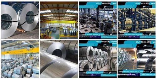 Dhabi Steel - Bobina de Aço Zincado Galvanizado Galvalume Aço Carbono 497366