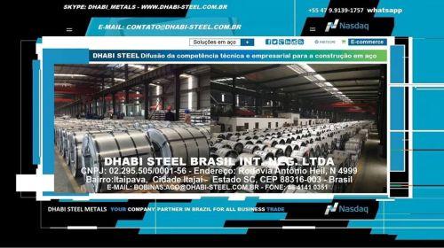 Dhabi Steel - Bobina de Aço Zincado Galvanizado Galvalume Aço Carbono 497368