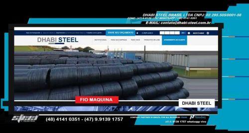 Dhabi Steel - Fio Máquina para Indústria e Trefilação em Aço Carbono  488869