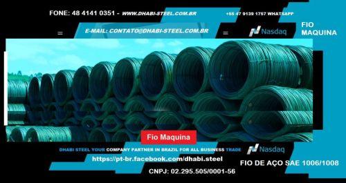 Dhabi Steel - Fio Máquina para Indústria e Trefilação em Aço Carbono  488871