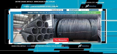 Dhabi Steel - Fio Máquina para Indústria e Trefilação em Aço Carbono  488872