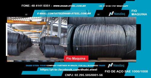 Dhabi Steel - Fio Máquina para Indústria e Trefilação em Aço Carbono  488873