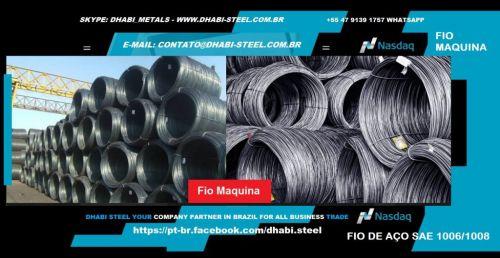Dhabi Steel - Fio Máquina para Indústria e Trefilação em Aço Carbono  488874