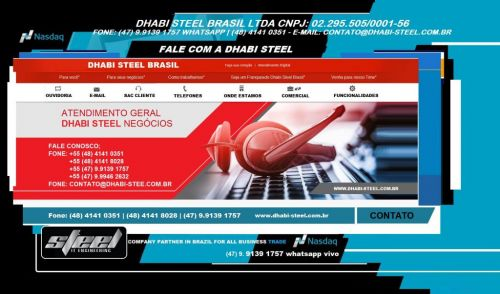 Dhabi Steel - Fio Máquina para Indústria e Trefilação em Aço Carbono  488877