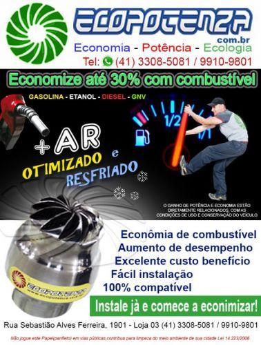 Ecopotenza economizador de combustivel  381479