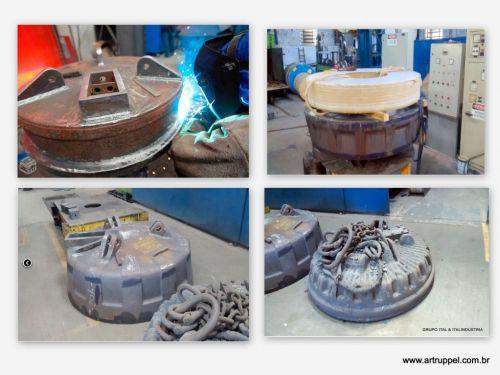 Eletroima de Sucatas - Reciclagem Industrial - Pátio de Sucatas - Sucateiro - Lixo Industrial - Ferro Velho - Tarugos - Ferro - Aço - Siderurgica - Metalurgica -  346241