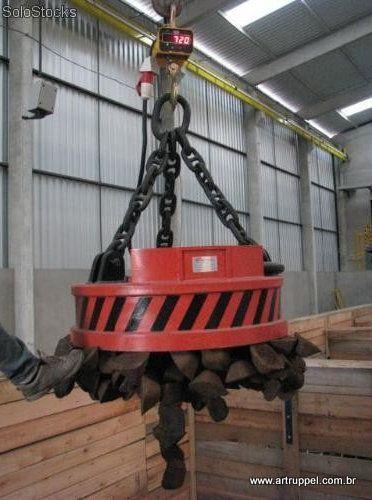 Eletroima de Sucatas - Reciclagem Industrial - Pátio de Sucatas - Sucateiro - Lixo Industrial - Ferro Velho - Tarugos - Ferro - Aço - Siderurgica - Metalurgica -  346242
