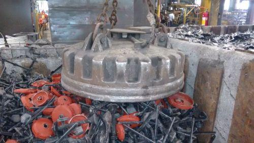 Eletroima de Sucatas - Reciclagem Industrial - Pátio de Sucatas - Sucateiro - Lixo Industrial - Ferro Velho - Tarugos - Ferro - Aço - Siderurgica - Metalurgica -  346246
