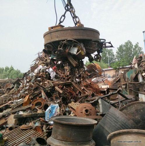 Eletroima de Sucatas - Reciclagem Industrial - Pátio de Sucatas - Sucateiro - Lixo Industrial - Ferro Velho - Tarugos - Ferro - Aço - Siderurgica - Metalurgica -  346247