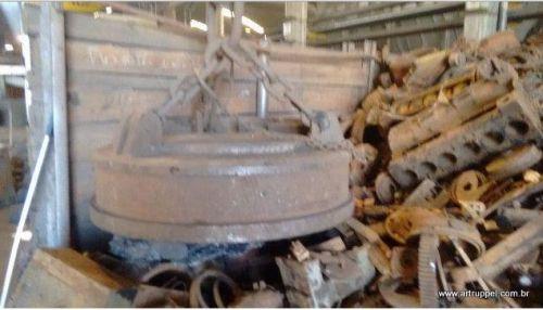 Eletroima de Sucatas - Reciclagem Industrial - Pátio de Sucatas - Sucateiro - Lixo Industrial - Ferro Velho - Tarugos - Ferro - Aço - Siderurgica - Metalurgica -  346248