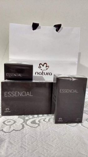 Essencial Masculino Kit Barba e Perfume 397095