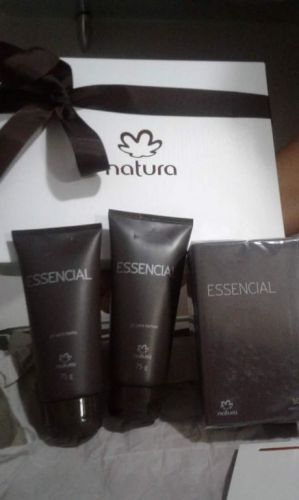 Essencial Masculino Kit Barba e Perfume 397108