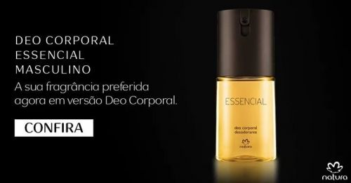 Essencial Masculino Kit Barba e Perfume 422312