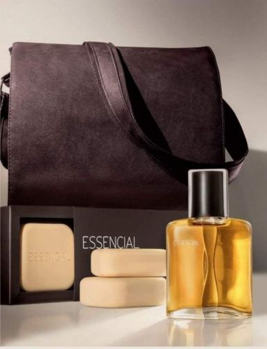 Essencial Masculino Kit Barba e Perfume 422326
