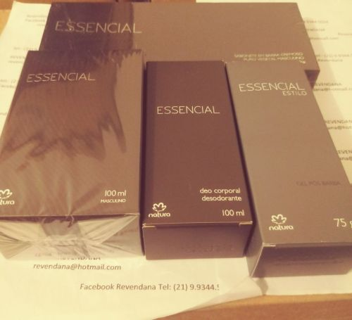 Essencial Masculino Kit Barba e Perfume 430437