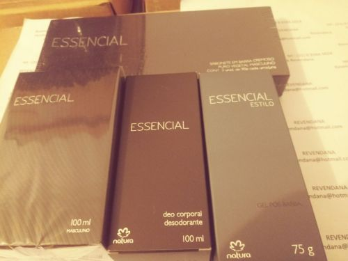 Essencial Masculino Kit Barba e Perfume 430439