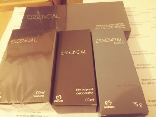 Essencial Masculino Kit Barba e Perfume 430440