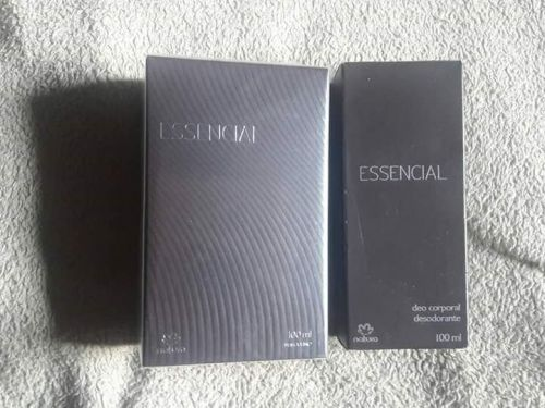 Essencial Masculino Kit Barba e Perfume 430441