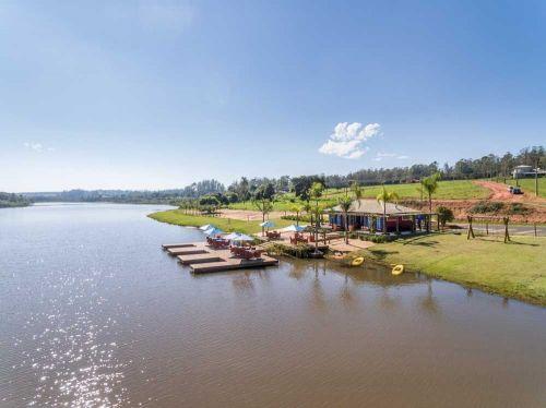 Galinha Morta: terreno por menos da metade do preço de mercado no Resort Águas de Santa Bárbara com 450 m2 Res Ii L19 q Gp situado perto do Lago cercado por florestas 480427