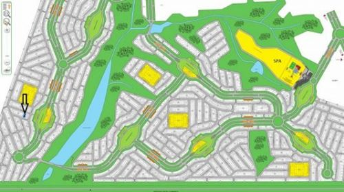 Galinha Morta: terreno por menos da metade do preço de mercado no Resort Águas de Santa Bárbara com 450 m2 Res Ii L19 q Gp situado perto do Lago cercado por florestas 480430
