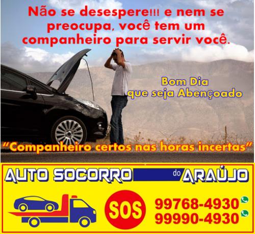 Guincho e Reboque uberlandia Auto socorro do Araujo 549344