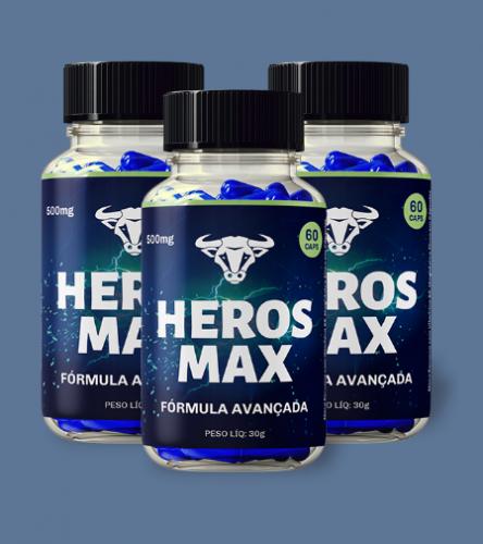 Heros Max Estimulante Sexual Masculino 527328
