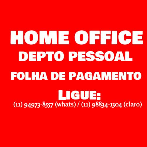 Home Office em Depto Pessoal para Contadores Empresas e Escritórios em Geral 514888