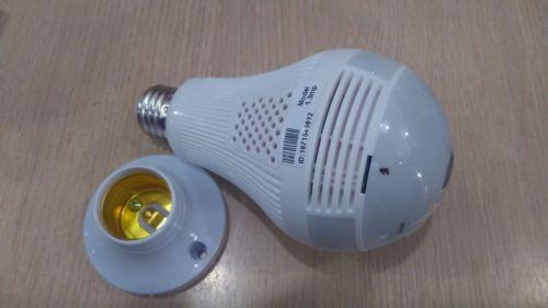 #lâmpada Led Espiã com Câmera por wi fi 469643
