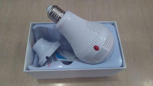 #lâmpada Led Espiã com Câmera por wi fi 469644