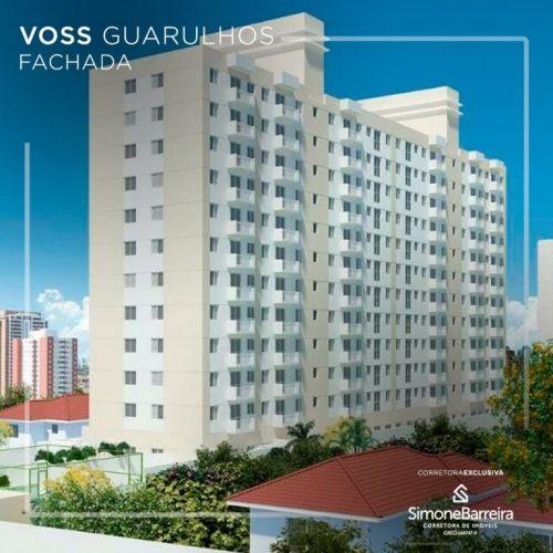 Lançamento Voss Guarulhos Mcmv Vila Augusta 2 dorms com terraço 419413